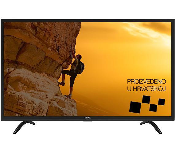 """VIVAX LED TV 32""""/ TV-32LE94T2/ HD Ready/ 1366x768/ DVB-T2/ H.265/ 2xHDMI/ 2xUSB/ Hotelový mód"""
