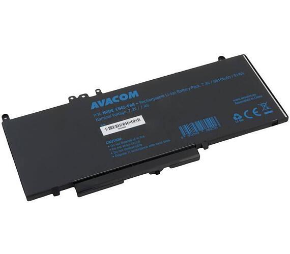 Náhradní baterie Dell Latitude E5450 Li-Pol 7,4V 6810mAh 51Wh (NODE-E545-P68)