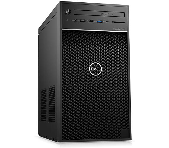 Dell Precision T3630 i7-8700/32GB/512GB SSD/P1000-4GB/DVD-RW/USB-C/DP/W10P/3RNBD/Černý (3630-0706) + DOPRAVA ZDARMA