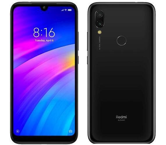 BAZAR_Xiaomi Redmi 7 Black/6,26´´ 1520x720 HD+IPS/3GB/32GB/SD/2xSIM/FP/12MPx+2MPx/4000mAh + DOPRAVA