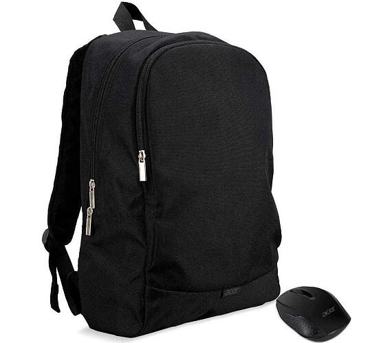 "ACER NTB STARTER KIT 15.6"" ABG950 BACKPACK BLACK AND WIRELESS MOUSE BLACK (NP.ACC11.029)"
