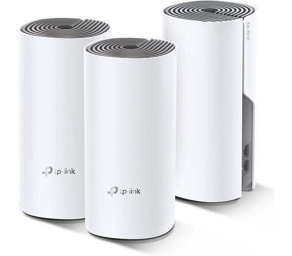 TP-Link Deco E4 - AC1200 Wi-Fi mesh systém pro celou domácnost (3-Pack) (Deco E4(3-Pack)) + DOPRAVA ZDARMA