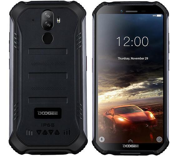 Doogee S40 DualSIM gsm tel. 3+32 GB Black + DOPRAVA ZDARMA