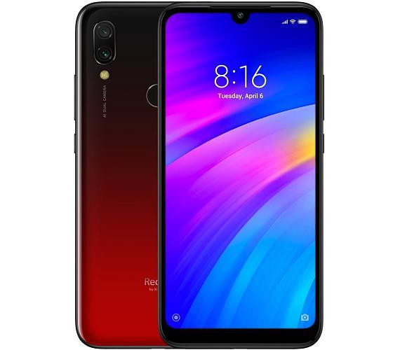 "Xiaomi Redmi 7 - red 6,26"" IPS/ 3GB RAM/ 64GB/ LTE/ Dual SIM/ Android 9.0 (22375)"