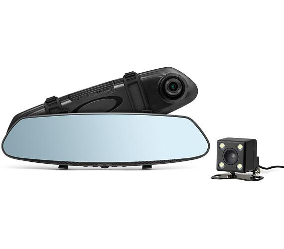 Technaxx digitální autokamera a parkovací kamera ve zpětné zrcátku (TX-124) (4805) + DOPRAVA ZDARMA