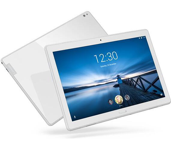 """Lenovo TAB P10 LTE Snapdragon 1,80GHz/4GB/64GB/10,1"""" FHD/IPS/multitouch/FPR/sklo/Android 9 bílá ZA450067CZ + DOPRAVA ZDARMA"""
