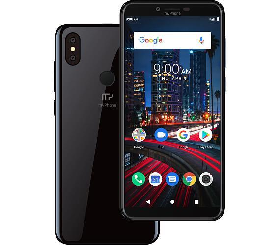 myPhone City 2 černý + DOPRAVA ZDARMA