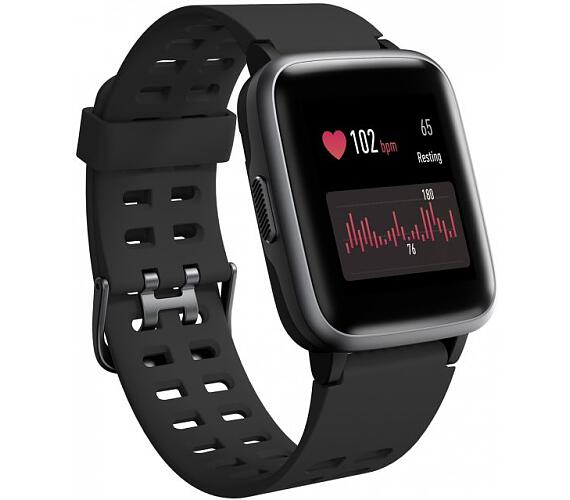 "Umax chytré hodinky U-Band P2 Black/ 1,3"" IPS/ Bluetooth 4.2/ nRF52840/ ATM5/ iOS 8.0 +/ Android 4.3 +/ app Veryfit PRO (UB530)"
