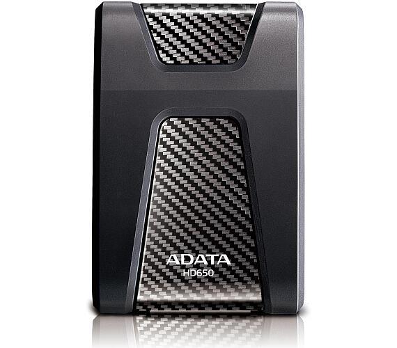 """ADATA externí HDD HD650 1TB USB 3.1 2.5"""" guma/plast (5400 ot./min) Černý (AHD650-1TU3-CBK)"""