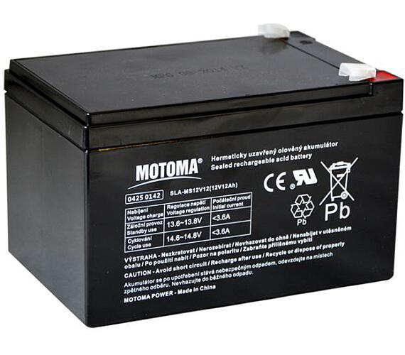 MOTOMA bezúdržbový akumulátor + DOPRAVA ZDARMA