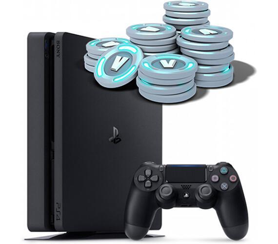 Sony PS4 500GB + hra Fortnite