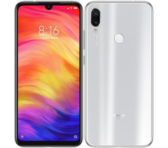 Xiaomi Redmi Note 7 White/6,3´´ 2340x1080 FHD+ IPS/4GB/64GB/SD/2xSIM/FP/48MP+5MP/4000mAh