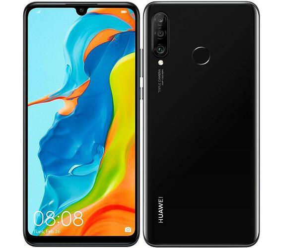 Huawei P30 Lite DualSIM gsm tel. Midnight Black + DOPRAVA ZDARMA