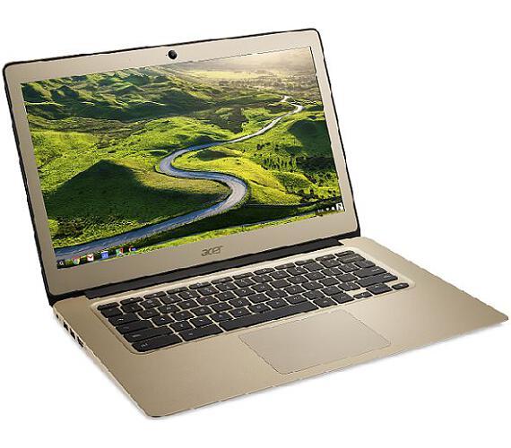 "Acer Chromebook 14 (CB514-1H-P776) Pentium N4200/4GB+N/A/eMMC 64GB+N/A/HD Graphics/14"" FHD IPS/BT/Google Chrome/Gold (NX.HGREC.001)"