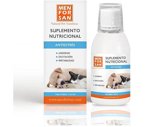Menforsan Anti-stress - Proti stresu - Tekutý doplněk stravy pro psy a kočky 120 ml