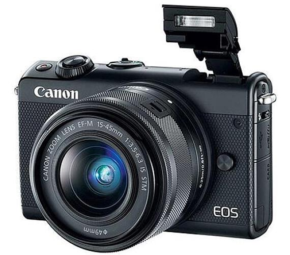 Canon EOS M100 Black + EF-M 15-45mm f/3.5-6.3 IS STM (2209C012)