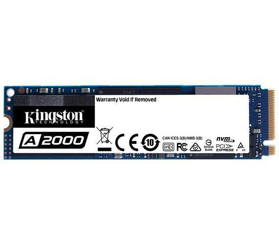 Kingston Flash SSD 250G A2000 M.2 2280 NVMe (SA2000M8/250G)
