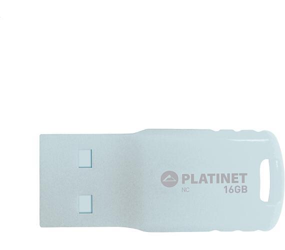 PLATINET PENDRIVE USB 2.0 F-Depo 16GB WATERPROOF WHITE (PMFF16W)