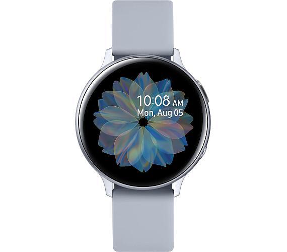 SAMSUNG Galaxy Watch Active 2 R820 Aluminium 44mm Silver (SM-R820NZSAXEZ) + DOPRAVA ZDARMA