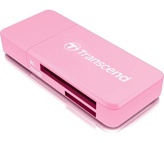 Transcend RDF5 USB 3.0 čtečka paměťových karet SDHC (UHS-I)/SDXC (UHS-I)/microSDHC (UHS-I)/microSDXC (UHS-I)