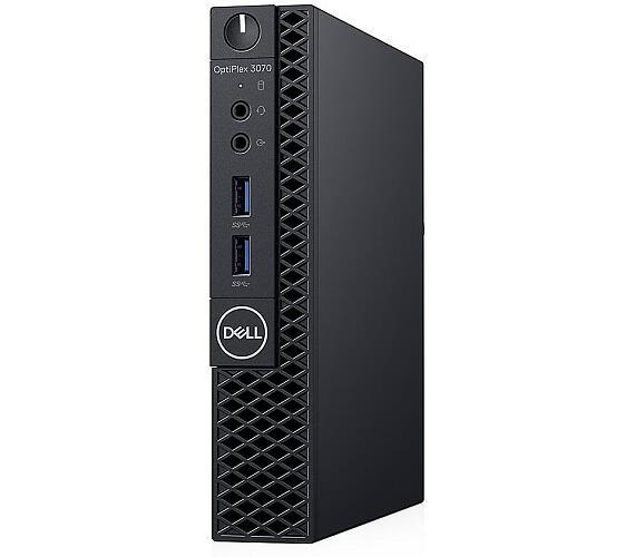 DELL OptiPlex 3070 Micro MFF/ i3-9100T/ 4GB/ 128GB SSD/ Wifi/ W10Pro/ Micro MFF PC/ 3Y Basic on-site (3070-5544)