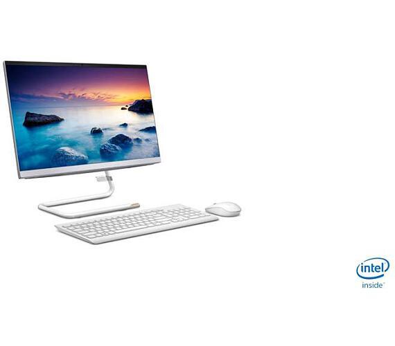 "Lenovo IdeaCentre AIO A340-22IWL Pentium 5405U 2,30GHz/4GB/SSD 128GB/21,5"" FHD/WVA/ AG/WIN10 S-Mode bílá (F0EB00A6CK)"