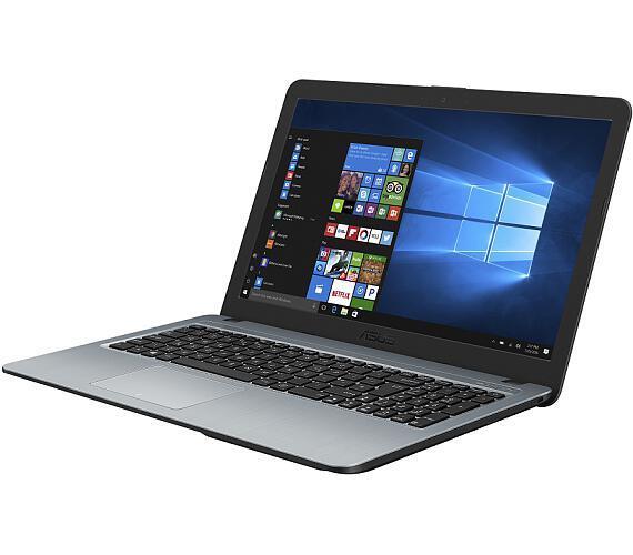 """Asus X540UB-DM1273T Pentium 4417U/4GB/1TB/MX110 2GB/15,6"""" FHD TN matný/W10/Silve"""