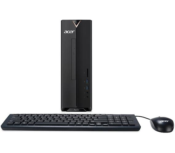 Acer Aspire XC-830 Intel PQCJ5005D /4GB/256 GB / DVDRW/ USB klávesnice & mouse / bez OS (DT.B9VEC.007)