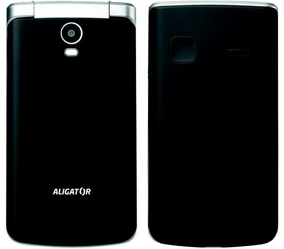 ALIGATOR V710 Senior černo-stříbrný+st.nab. (AV710BS)