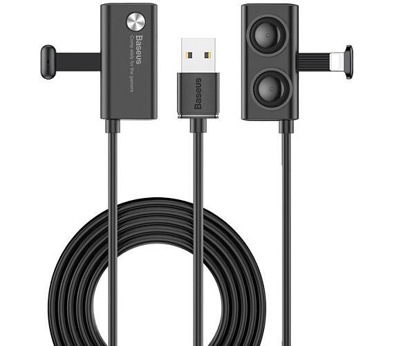 Kabel s přísavkou 1m 2.4A (USB/Lightning)