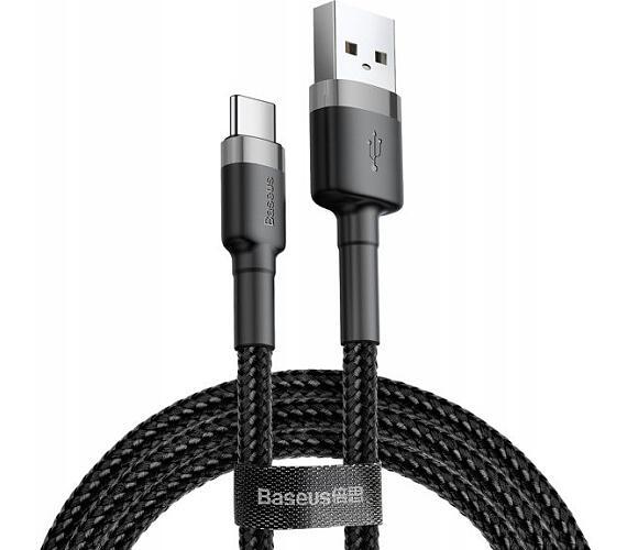 Cafule kabel USB do Type-C 3.0A 0.5m (šedo-černý)