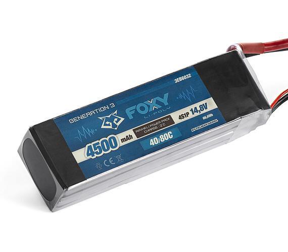 FOXY G3 Li-Po 4500mAh/14,8V 40/80C 66,6Wh
