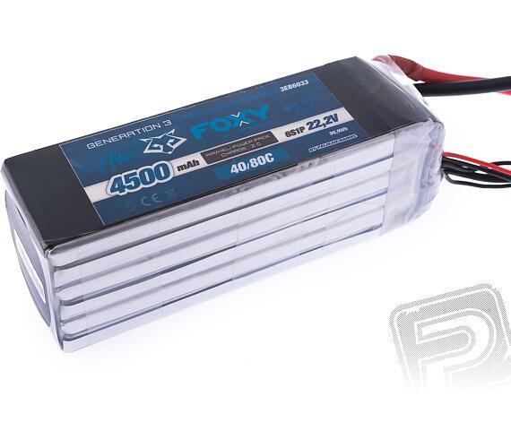 FOXY G3 Li-Po 4500mAh/22.2V 40/80C 99.9Wh + DOPRAVA ZDARMA