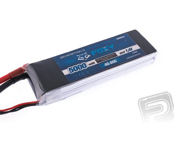 FOXY G3 - Li-Po 5000mAh/7,4V 40/80C 37,0Wh