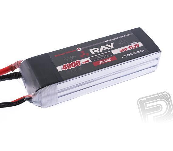 RAY Li-Po 4900mAh/11.1 30/60C Air pack+XT60 plug