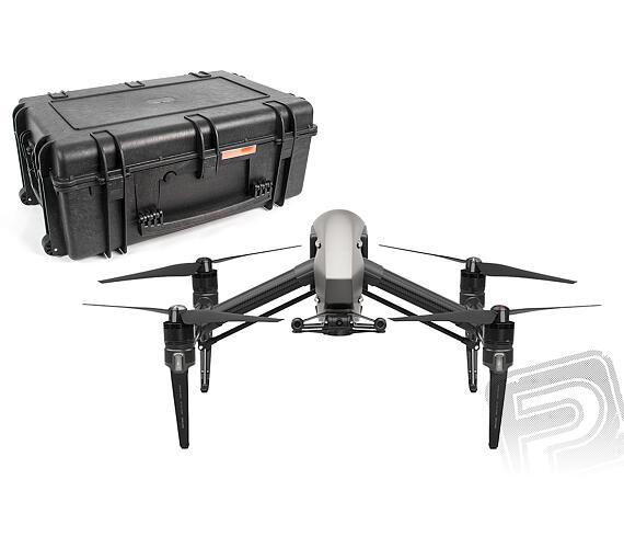 Inspire 2 bez kamery + Přepravní kufr s vnitřní pěnovou výplní na kolečkách + DOPRAVA ZDARMA