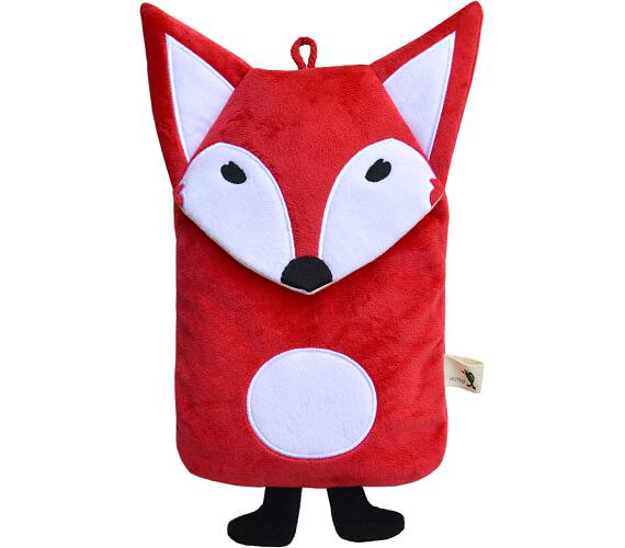 Dětský termofor Hugo Frosch Eco Junior Comfort s motivem červené lišky