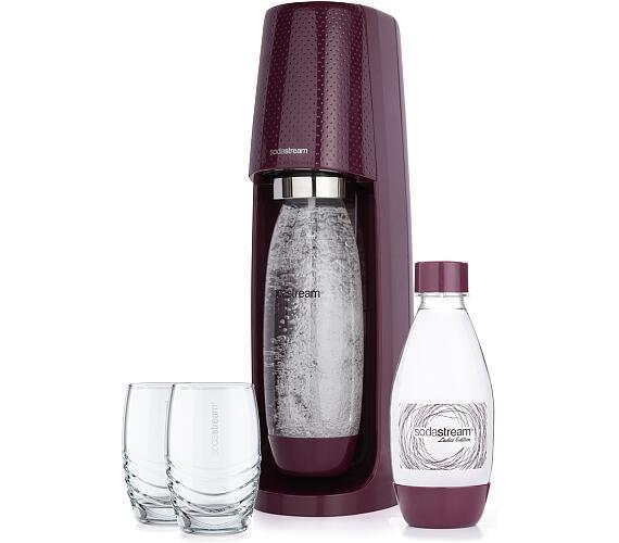 Spirit ŠVESTKOVÁ výrobník perl vod SODA SodaStream + DOPRAVA ZDARMA