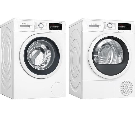 Bosch WAT24461BY + Sušička prádla Bosch WTR85T00BY