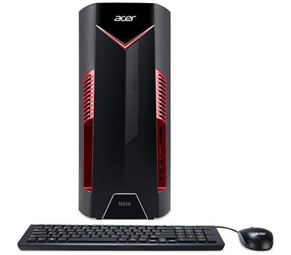Acer Nitro N50-600/i7-9700/16GB/512GB SSD+2TB/DVDRW/GTX 1660 Ti/USB klávesnice+myš/W10 Home (DG.E0MEC.06J) + DOPRAVA ZDARMA