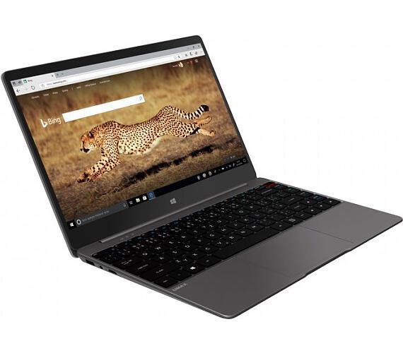"Umax notebook VisionBook 13Wg Pro Touch/ 13,3"" IPS/ 1920x1080/ N4000/ 4GB/ 64GB Flash/ mini HDMI/ 2x USB/ W10 Home/ šedý (UMM23013T)"