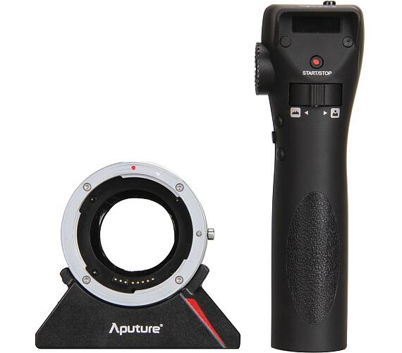 Aputure dálkově ovládaný DEC adaptér pro objektivy Canon na úchyt MFT + DOPRAVA ZDARMA