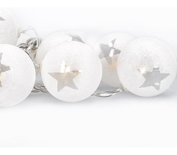 Solight LED řetěz vánoční koule