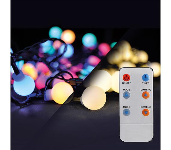Solight LED 2v1 venkovní vánoční řetěz