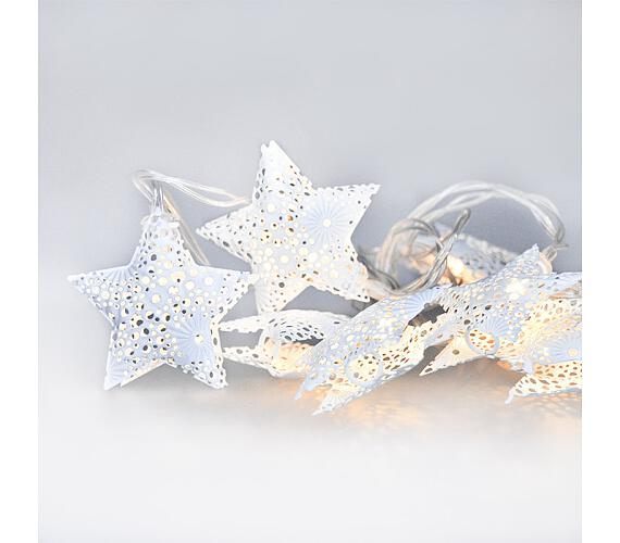 Solight LED řetěz vánoční hvězdy