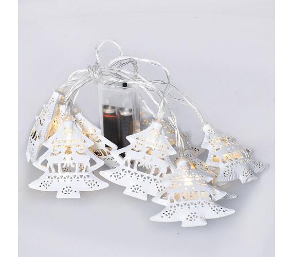 Solight LED řetěz vánoční stromky