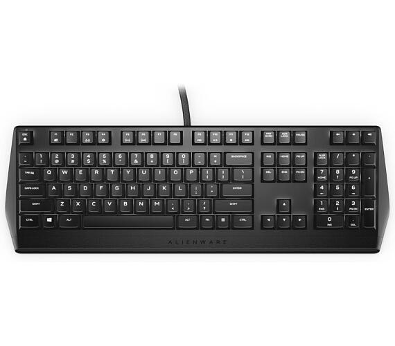 Dell klávesnice Alienware Mechanical Gaming Keyboard/ AW310K/ US/ International/ mezinárodní/ QWERTY (545-BBCJ)