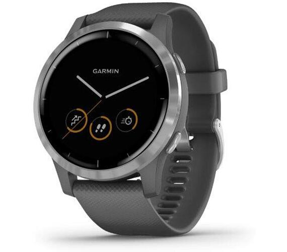 Garmin vívoactive4 Silver/Gray Band (010-02174-03)