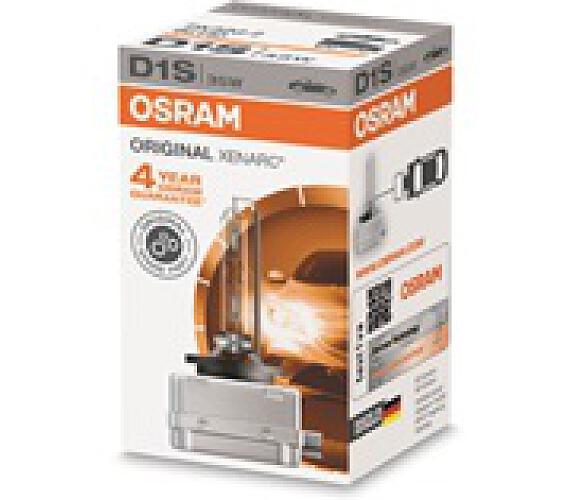 OSRAM xenonová výbojka D1S XENARC 12/24V 35W PK32d-2 4300K živ.3000h (Krabička 1ks) (66140)