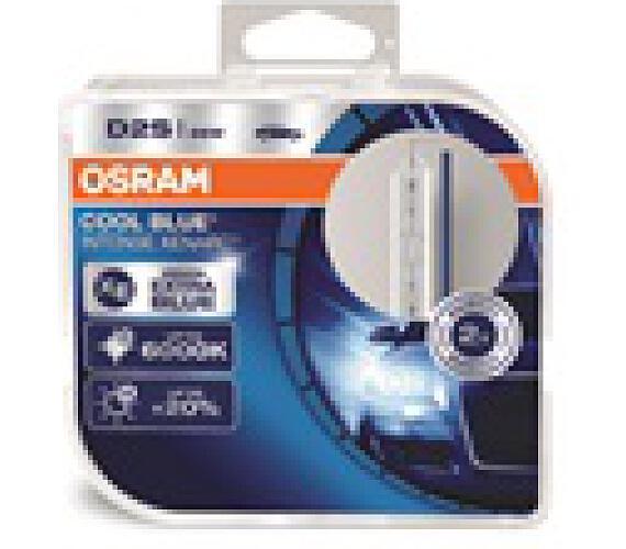 OSRAM xenonová výbojka D2S XENARC COOL BLUE INTENSE 12/24V 35W P32d-2 6000K živ.2800h (Duo-Box) (66240CBI-HCB)